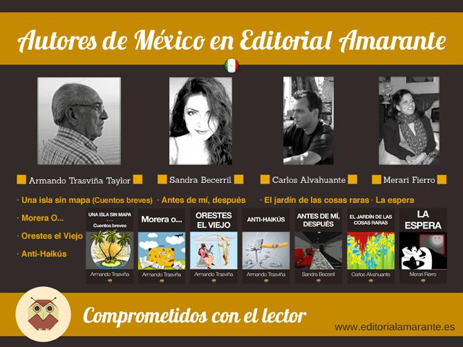 Autores de México en Editorial Amarante