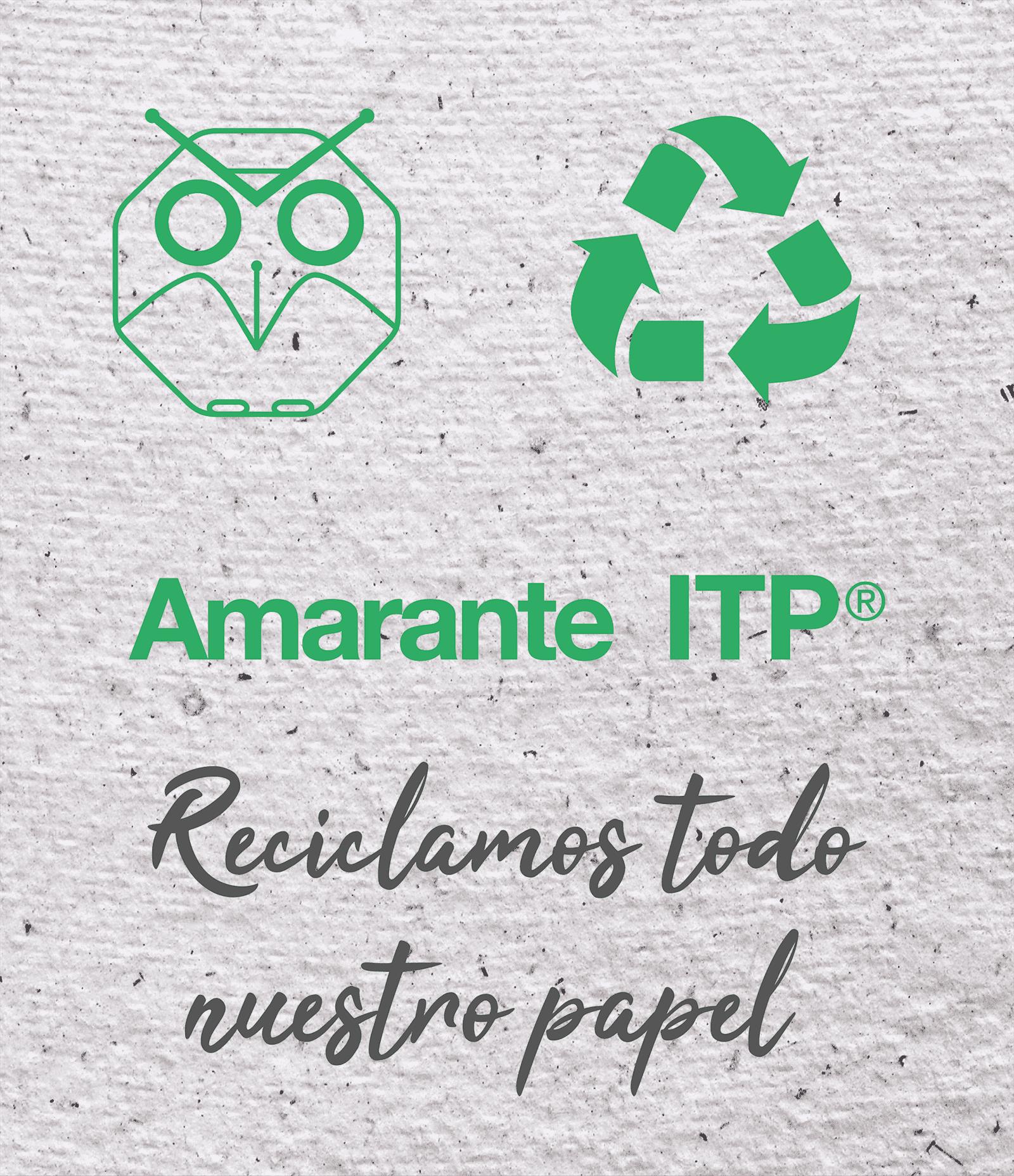Editorial Amarante - Reciclaje